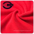 100% polyester micro-polaire chaud anti-bouloches double face brossé pour tissus d'habillement d'hiver