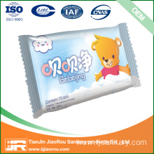 Cheap for Disposable Baby Wet Wipes Baby wet towels 80 pieces per pack export to Guam Wholesale