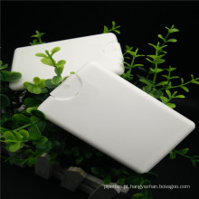 20ml Bolso de plástico para cartão de crédito com cartão de crédito