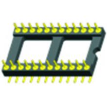 O SMT do soquete de IC do passo de 2.54mm soa o espaçamento 15.24mm do adaptador