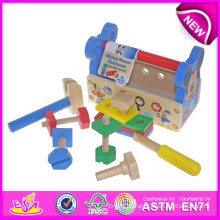 Colorful Wooden Tool Toy for Kids, Pretend Toy Wooden Toy Tool Toy for Children, Role Play Toy Wooden Tool Toy for Baby W03D037