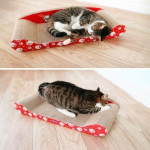 Cheap for Chaise Longue Cat Scratching Board,Lounge-Shaped Corrugated Cardboard Scratcher,Imperial Cat Large Chaise Lounge,Chaise-Shaped Scratcher Wholesale From China top rated cat scratchers supply to Turks and Caicos Islands Manufacturers