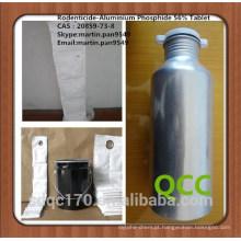 Fumigante eficaz Fosfato de alumínio 56% comprimido
