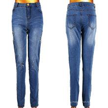 Женщины сломанной слезоточивый джинсы