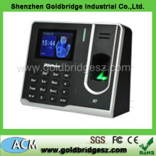H7 Model Zk Software 3 Inch Colour Screen Fingerprint Time Recorder