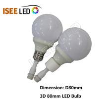 Dynamic LED Bulb RGB Color DMX 512 Controllable