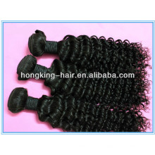 cheap stock unprocessed virgin raw curly hair, human hair