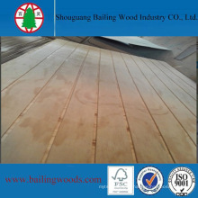 High Quality Grooved Pine Plywood