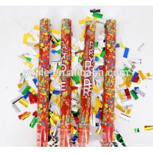 Metallic Foil Heart Confetti Party Popper