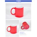 2016 Personnalisé Impression Logo Entreprise Tasse En Porcelaine Tasse De Café En Céramique Rouge Tasse