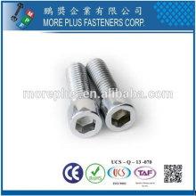 Zylinderschrauben DIN912 M2.5X8 12.9 grade black hex socket head Internal Hex Drive 304 Stainless Steel Socket Cap Screw