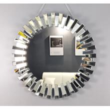 Fashionable interior mirror in powder room