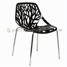 Metal Outdoor Chair Floresta Armless Chair Cadeira de jardim