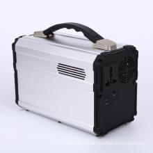 Kit de energia de sistema de iluminação doméstica portátil de energia solar