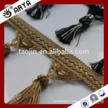 2016 Stock Product Cheap Wholesale for Home and Decor of Long Beaded Tassel Fringe