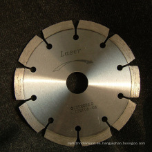 Disco de corte a laser seco de la construcción