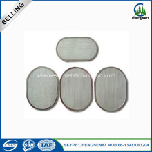 Oval Shape Filter Discs With Multiple Layers
