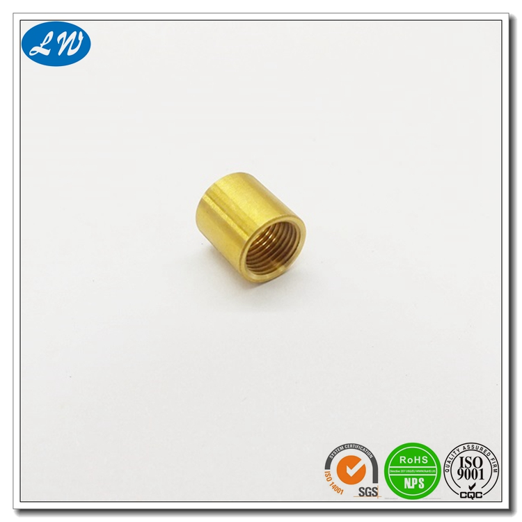 Threaded Brass End Cap