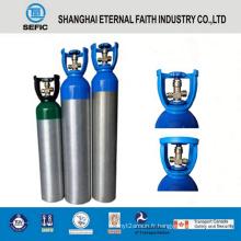 Cylindre de gaz en aluminium à haute pression de 6L (LWH140-6.0-15)
