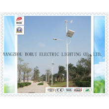 70W LED Solar- / Wind-hybride Straßenlaternen