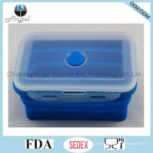 Горячее сбывание Sifb10 хранения еды силикона силикона индийского силикона Tiffin (1200ML)