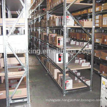 Jracking Alibaba China Medium Duty Book Rack Warehouse Racking Metal Shelf
