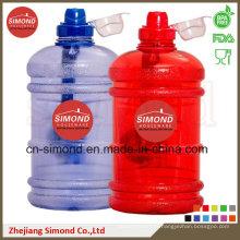 Pot d'eau de protéine de 2,2 litres avec bouchon en plastique, grande bouteille avec poignée (SD-6001)