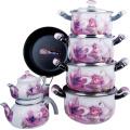 Prestige Cookware Set, Flower Cookware Set