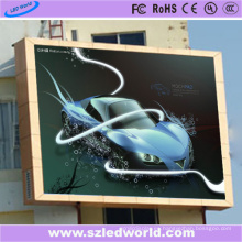 Exhibición de la cartelera del gabinete LED del hierro de P6 SMD para hacer publicidad