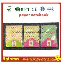 Bloc de notas de papel con Glitter Diamond