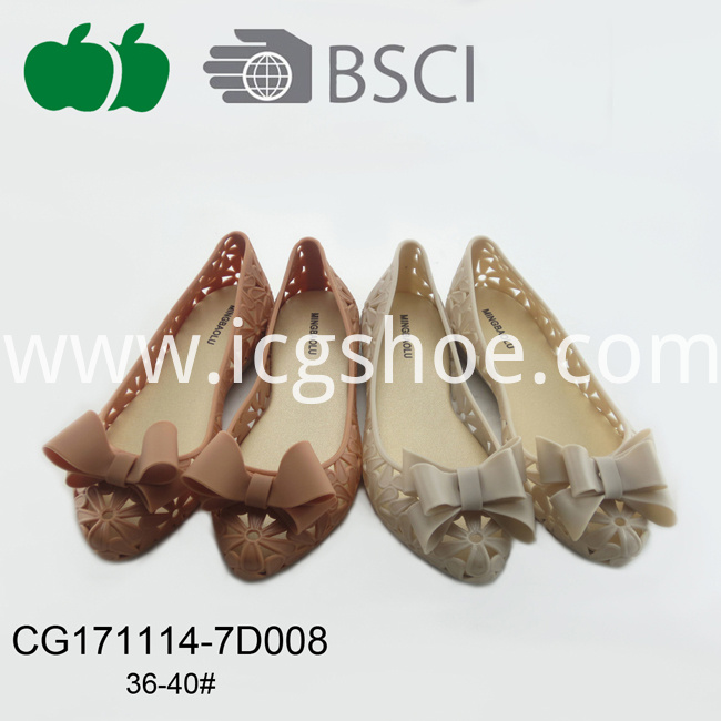 Best Selling Ladies New Fashion Pvc Casual Shoes