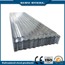 Z60 0.17mm Hot Dipped Galvanized Steel Corrugated Steel Roofing Sheet