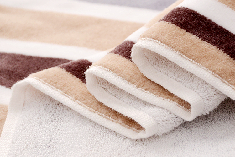Terry Stripe Towels