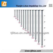 Suministro de bajo precio Clavo común de alambre de hierro