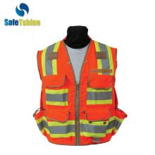 special design biocolor vest hi viz mulity pockets
