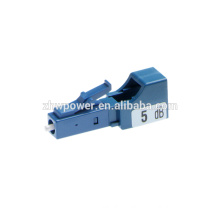 LC UPC 5DB fiber optic attenuator for FTTH FTTB FTTX Network