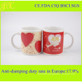 Customized Hot Selling 11oz High Quality Ceramic Mug for Valentine′s Day