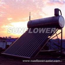Géiser solar estándar SABS de baja presión
