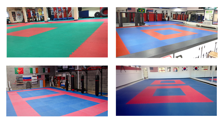 Interlocking Martial Art Style Square Foam Floor Mat