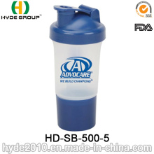 500ml chaud-vente protéine Smart bouteille Shaker (HD-SB-500-5)