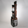 Custom Wood Material Soft Drinks Display Rack for Supermarket