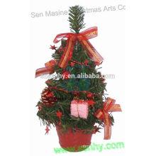 2015 venda quente de mesa artificial de árvore de Natal