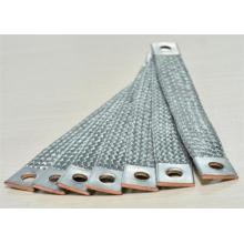 Wear Resistant Flexible Tinned Copper Braided Sleeving For Electrical Connector