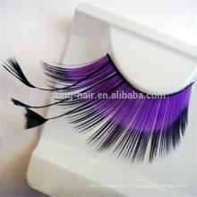 Propre Marque / OEM / Privé Étiquette En Gros 3D 100% Fourrure De Vison Faux Cils Silk Lashes Emballage