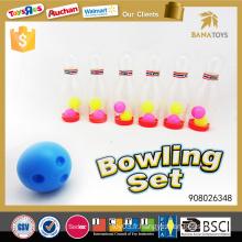 Nouveau jouet de sport pour enfants balles de bowling transparentes