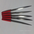electroplated flat and round diamond file for glass granite ceramic