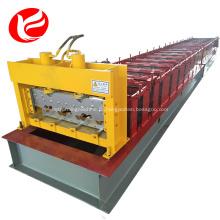 Perfil de aço corrugado piso decks painel formando máquina