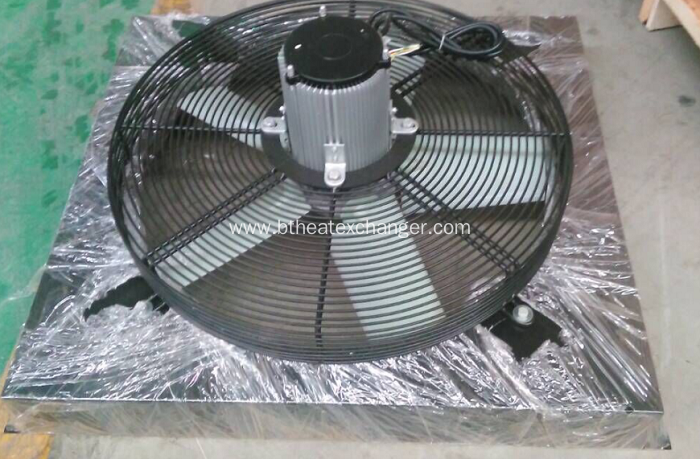 China Air Compressor Cooler 75kw With Fan And Motor