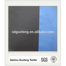 Tissu 100% coton de haute qualité 40 * 40 + 40D 133 * 72 57/58 '' uni teint