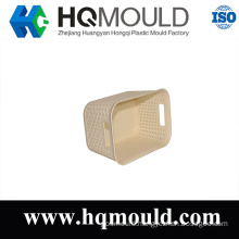Plastic Injection Rattan Basket Mould